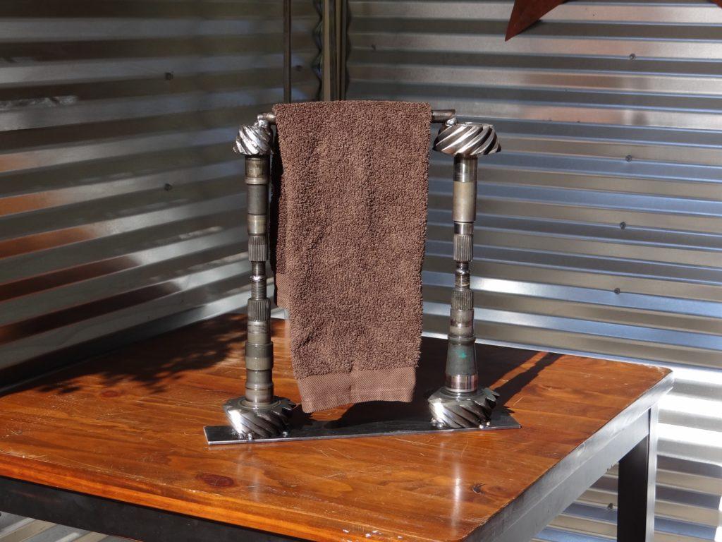 Towel holder for bathroom.
