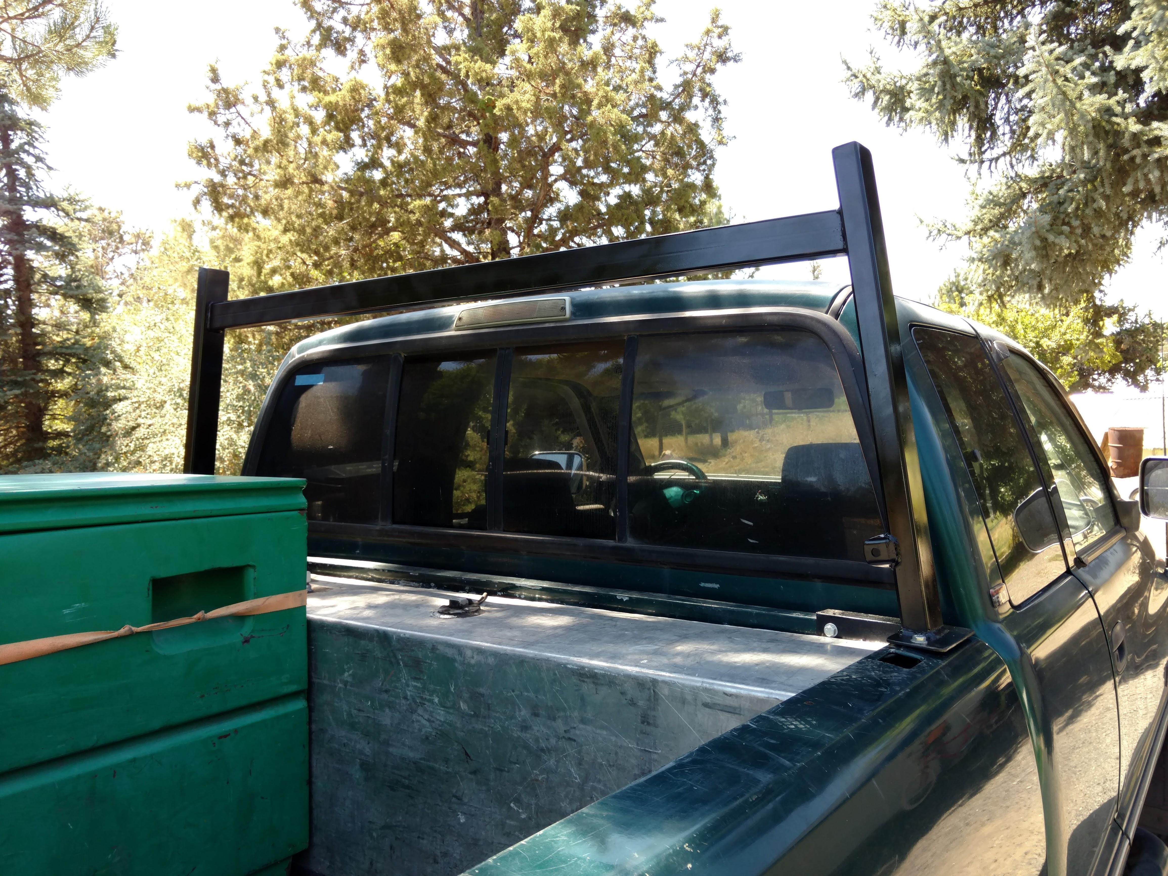 Custom contractor rack